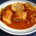 Cabbage Rolls in the Crock Pot