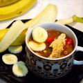 Caribbean Chicken Soup With Bananas