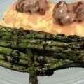 Grilled Asparagus With Balsamic Syrup