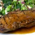 Marinated Pork Roast With Apricot Sauce