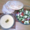 Hummus & Greek Salad Recipe