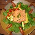 Broiled Salmon Salad