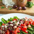 Grilled Asparagus and Tomatoes in a Kalamata[...]