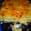 Baked Macaroni Pie With Cottage Cheese