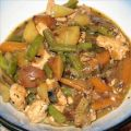 Chicken Stew with Roasted Balsamic Vegetables