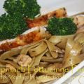Spinach Fettuccine Pasta & Roasted Black Pepper[...]