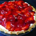 Strawberry Cream Pie To Die For