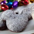 Gingerbread Beignets with Eggnog Creme Anglaise