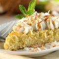 Coconut Cream Custard Pie