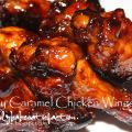 Sticky Caramel Chicken Wings