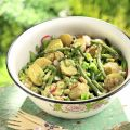 Potato Salad with Asparagus and Green Beans