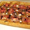 Caramelized Onion Flatbread with Prosciutto,[...]