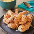 Coconut Shrimp with Fiery Mango Sauce