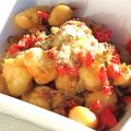 Gnocchi With Red Pepper & Rosemary Sauce