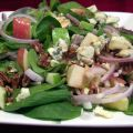 Spinach Salad with Blue Cheese