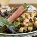 Grilled Tuna with White Bean and Charred Onion[...]