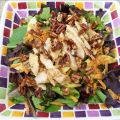 Asian Chicken Salad With Glazed Pecans