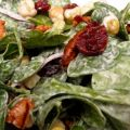 Spinach Salad With Festive Yumminess