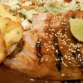 Baked Fish With Toasted Sesame Seeds