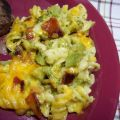 Cheesy Broccoli Macaroni With Bacon