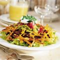 Taco Salad with Tortilla Whiskers