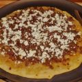 Caramelized Onion Sausage and Goat Cheese Pizza[...]