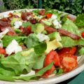 Spinach Salad with Blue Cheese and Bacon