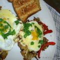 EGGS VEGGED OUT - Sunny Side Up Recipe