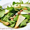 Arugula and Pear Salad with Toasted Walnuts[...]